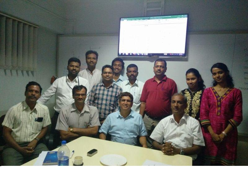 MS Project  Training at Belgaum